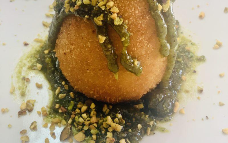 Arancino siciliano al pistacchio di bronte (Ricetta per 20 Arancini)